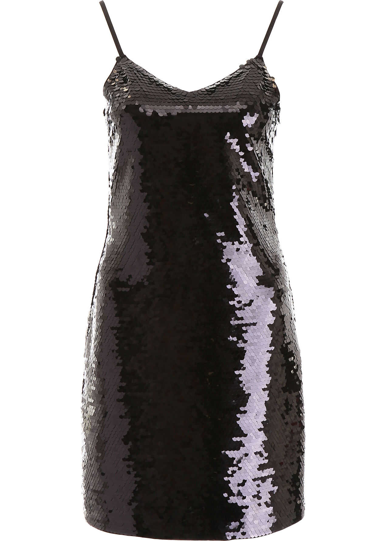 Michael Kors Sequins Mini Dress BLACK