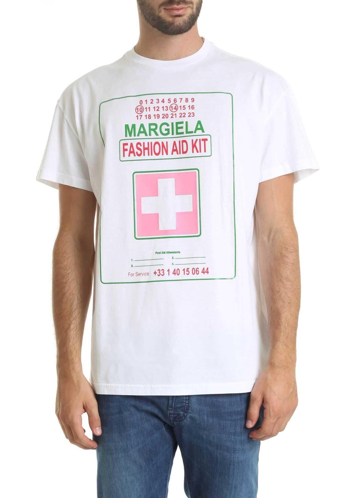 Margiela Fashion Aid Kit White T-Shirt