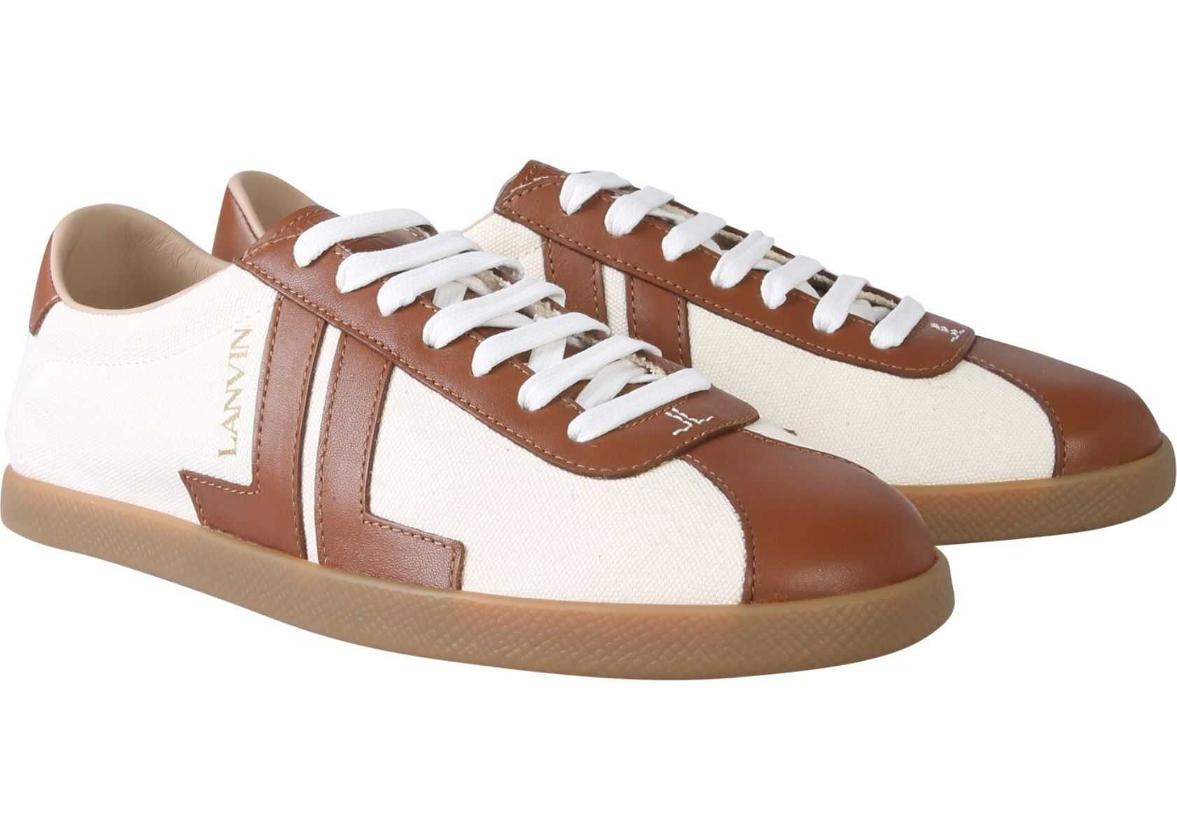 Lanvin Low Sneakers BEIGE
