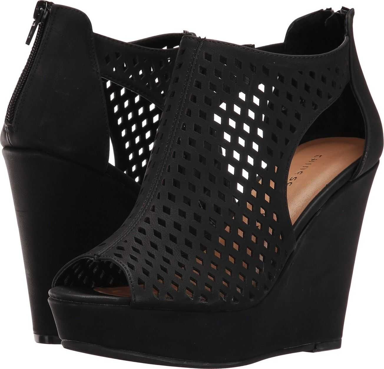 Chinese Laundry Indie Wedge Black