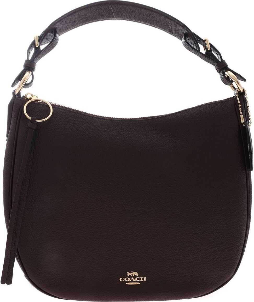 COACH Hobo Sutton Bag In Wine Color Purple
