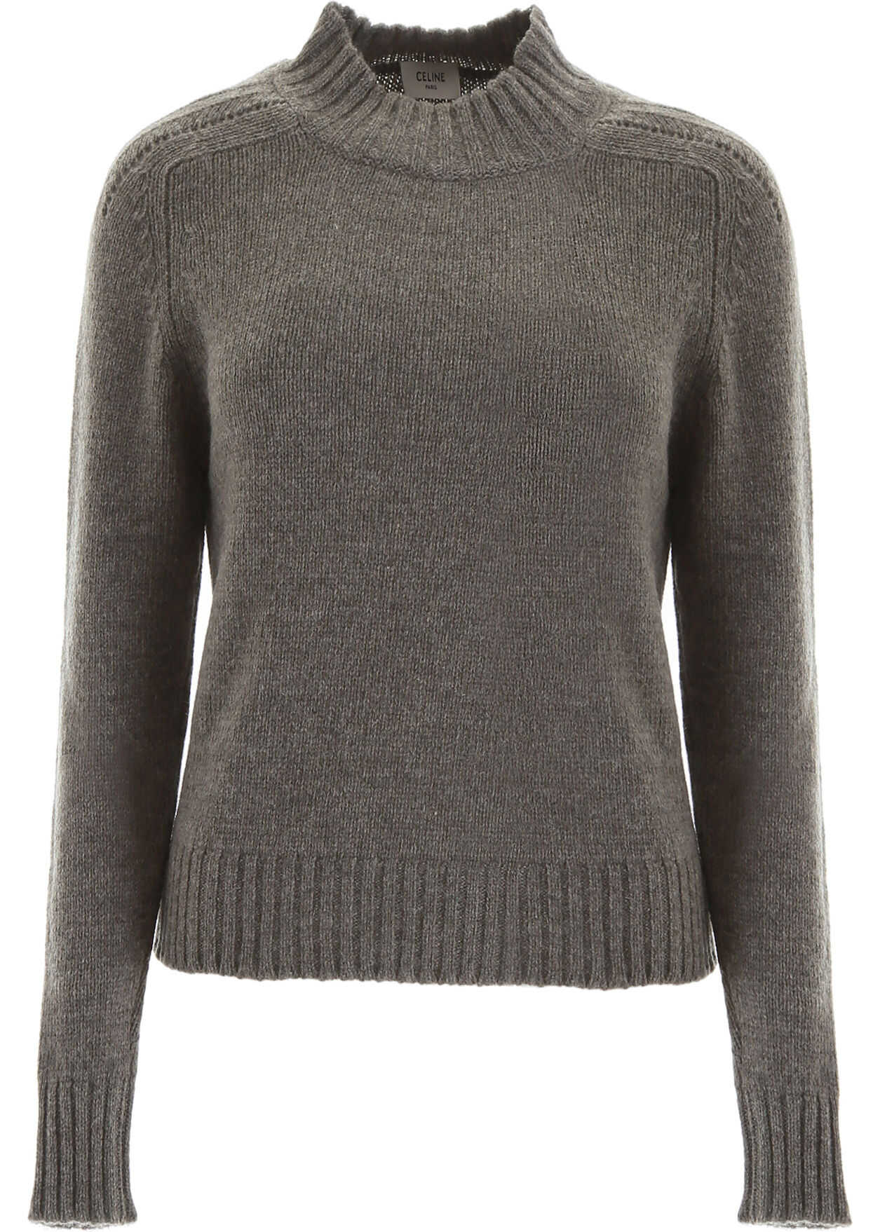 Céline Wool Pullover GREY GREEN