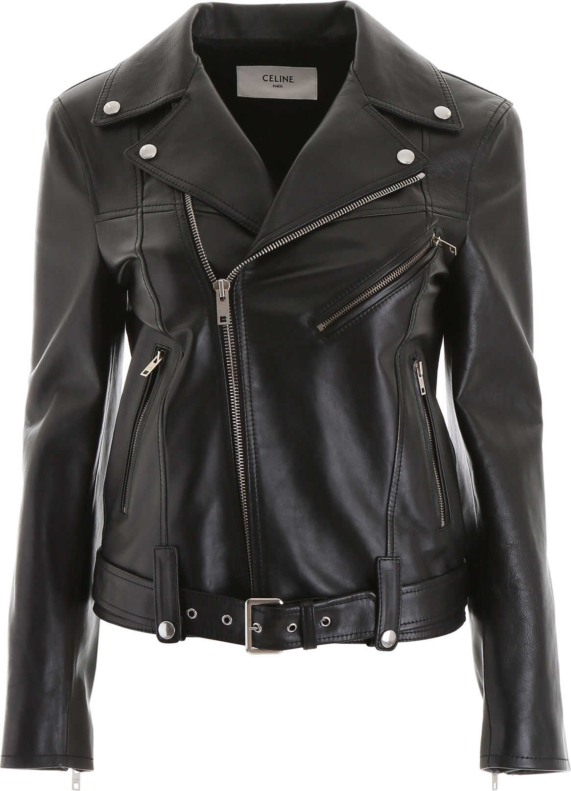 Céline Biker Jacket BLACK