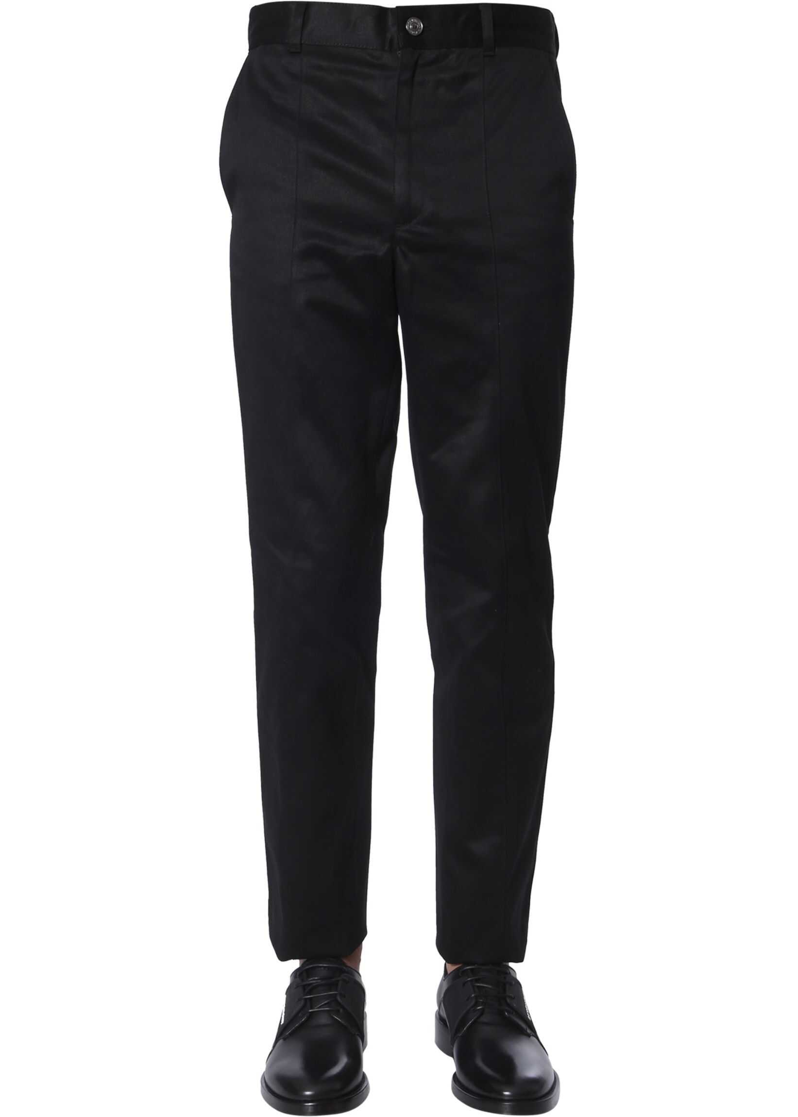 Givenchy Slim Fit Pants BLACK imagine