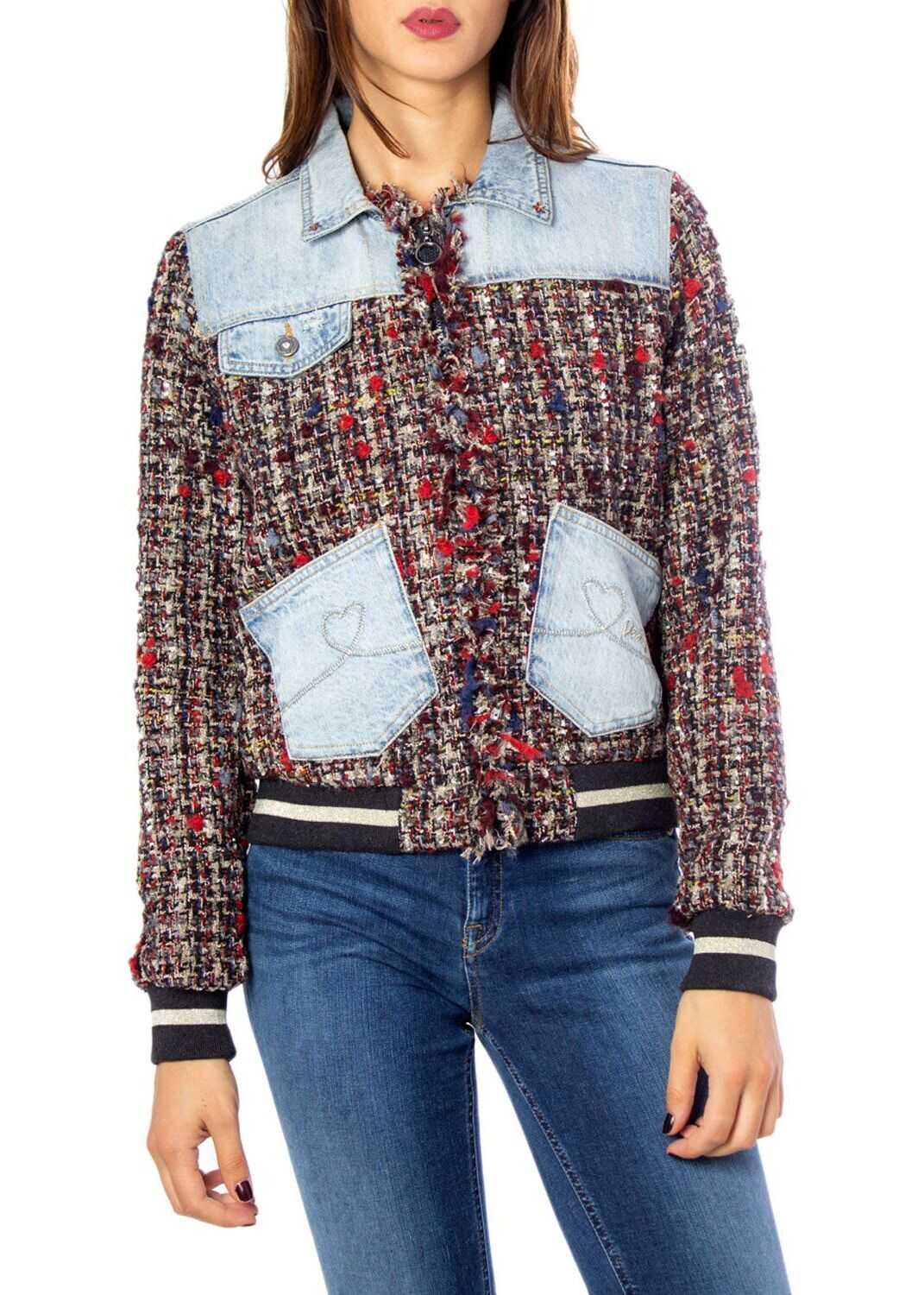 Desigual Cotton Jacket MULTICOLOR