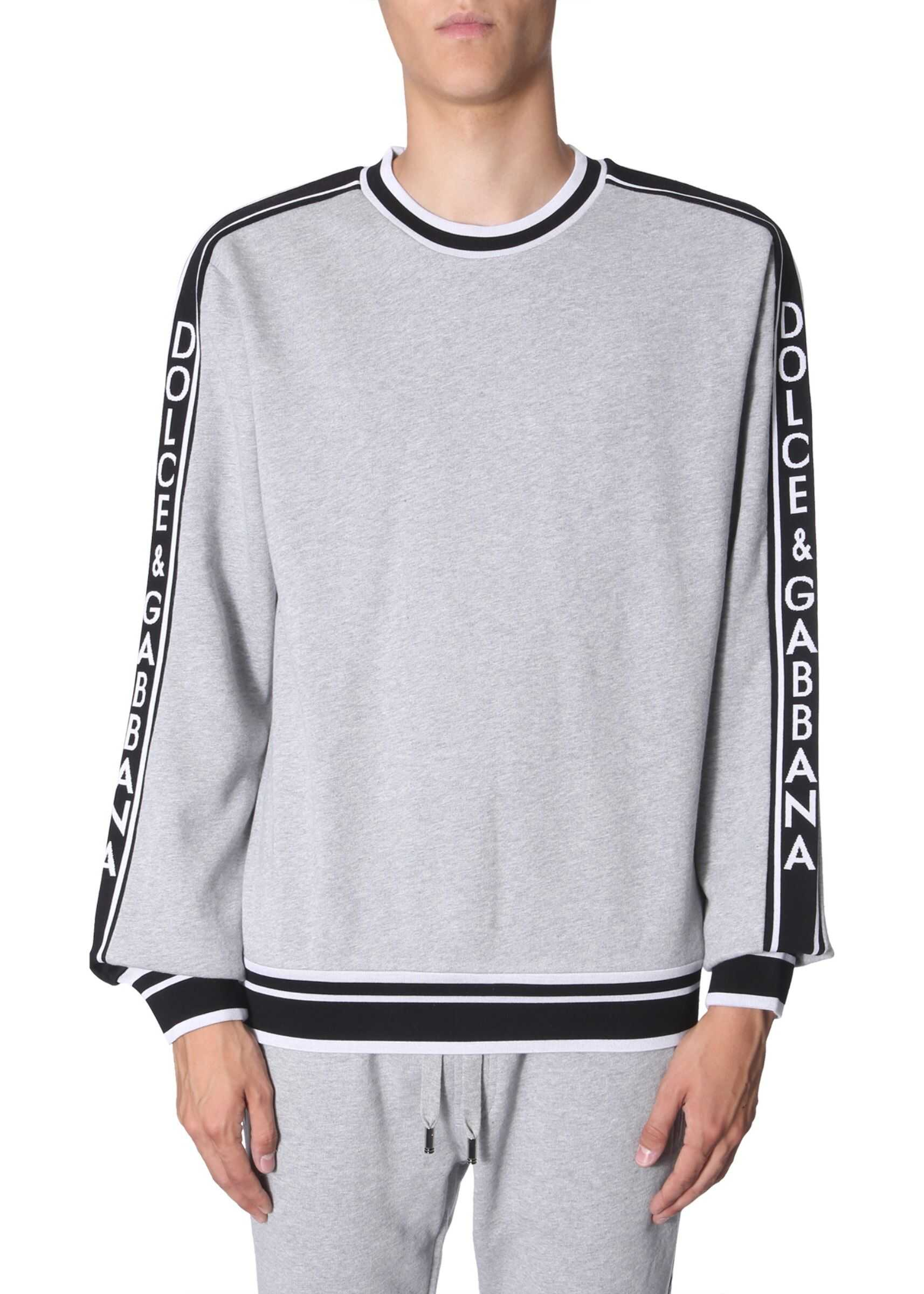 Dolce & Gabbana Crew Neck Sweatshirt GREY