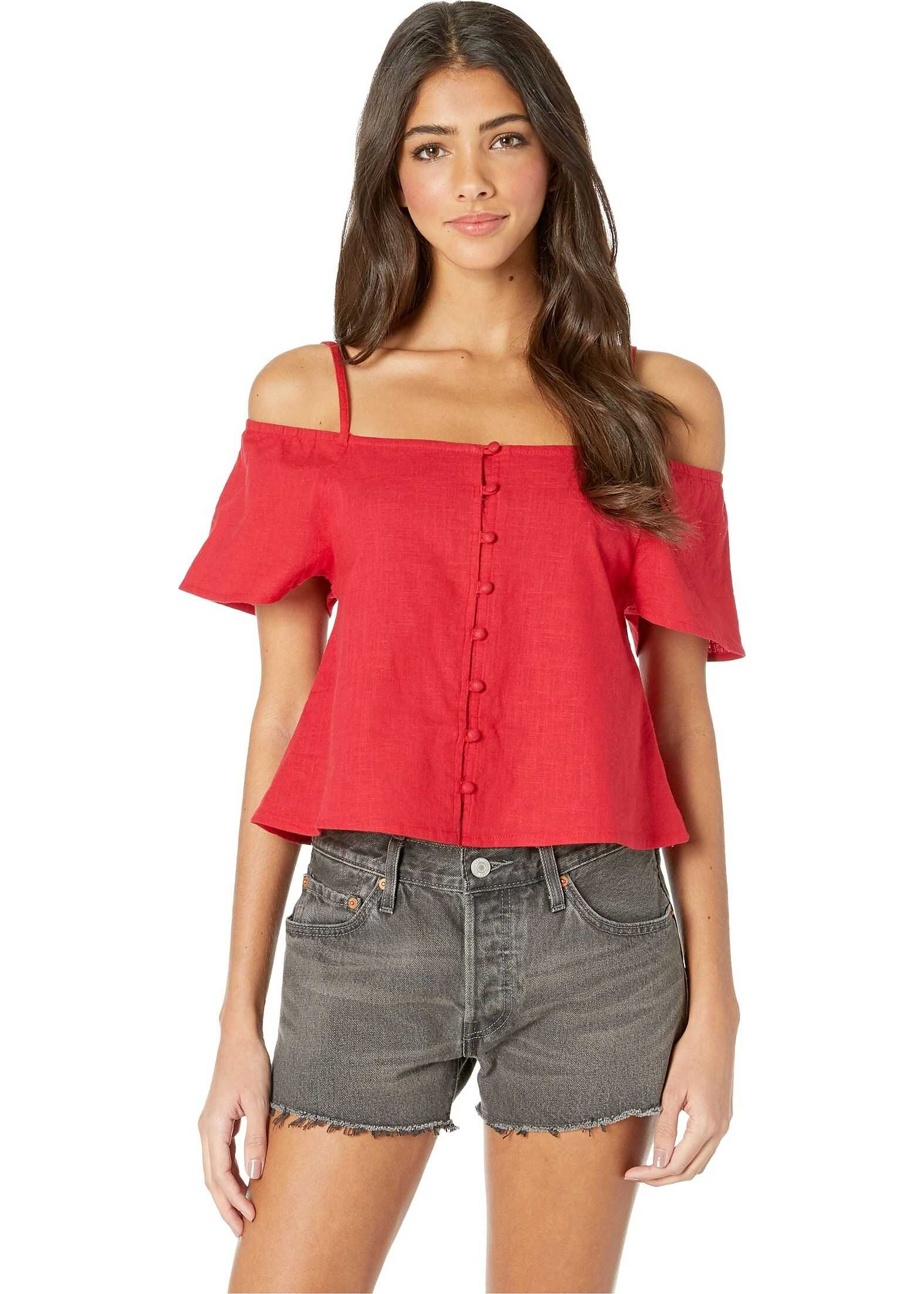 Billabong Summer Fling Woven Shirt Havana Red
