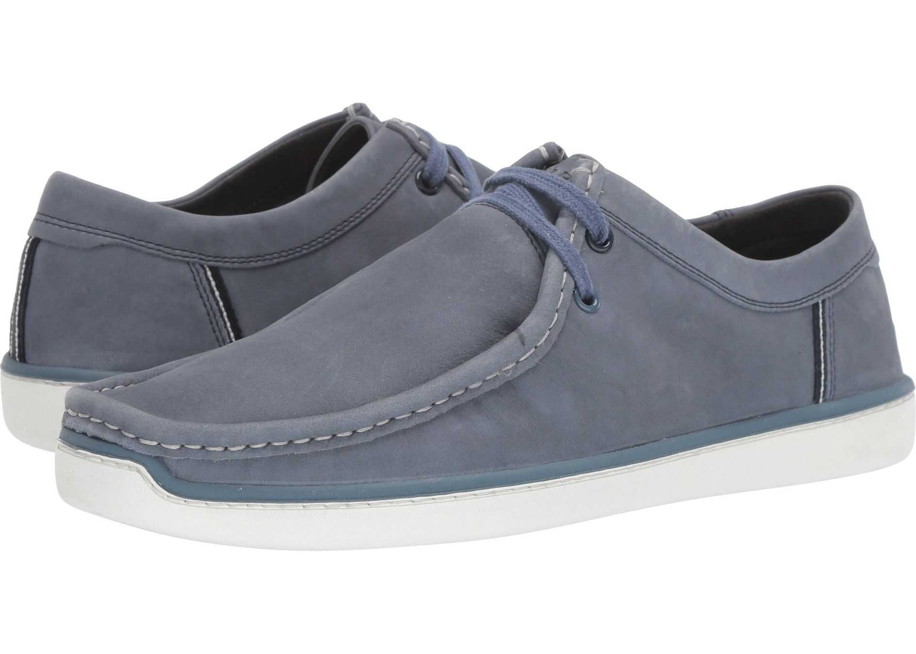 Hush Puppies Toby Oxford Vintage Indigo Nubuck