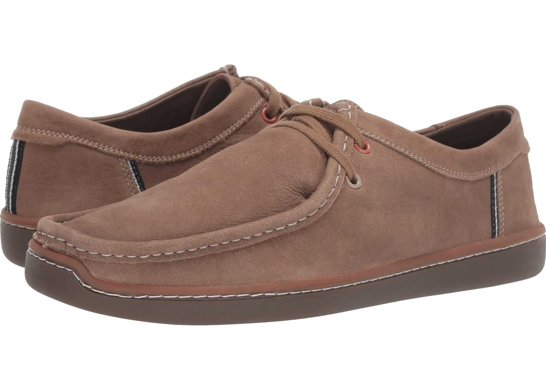 Hush Puppies Toby Oxford Taupe Nubuck