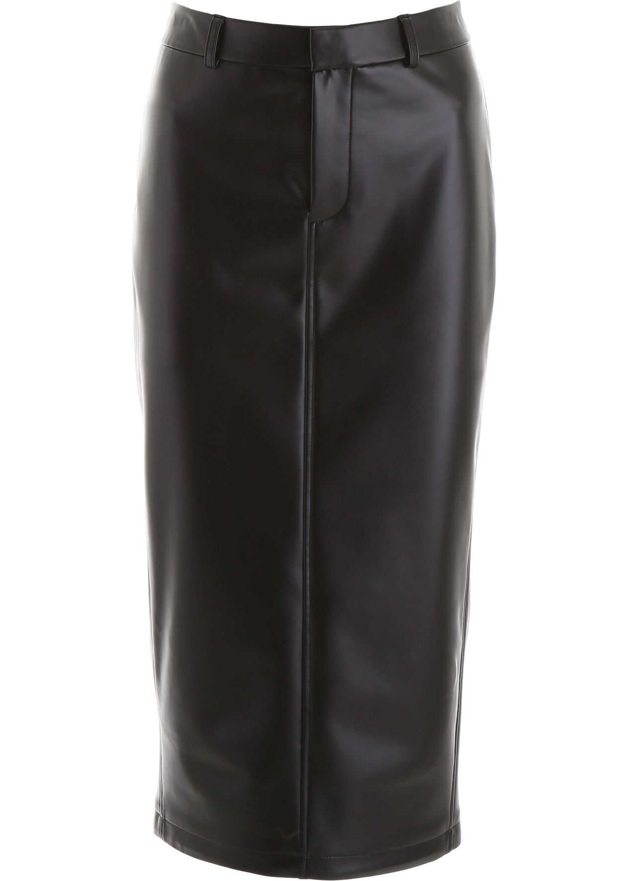 Alexander Wang Faux Leather Skirt BLACK