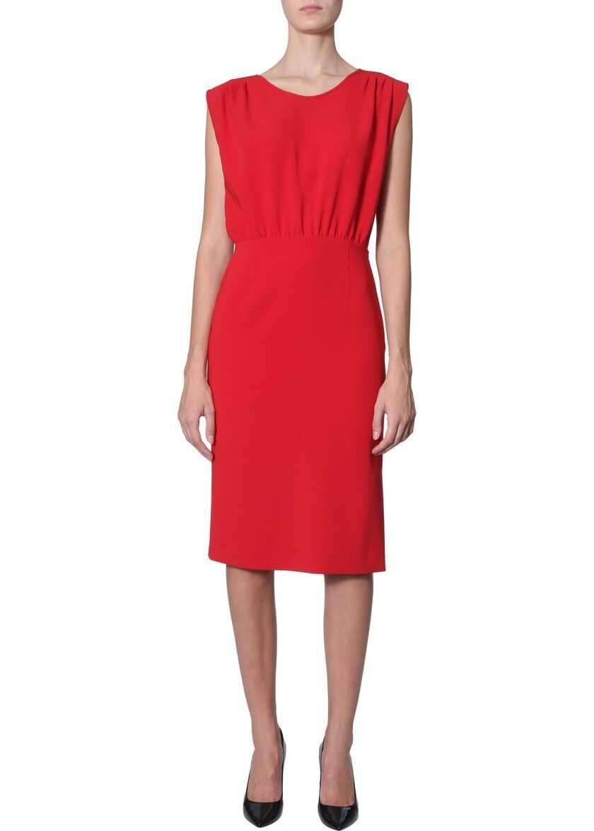 LOVE Moschino Synthetic Fibers Dress RED