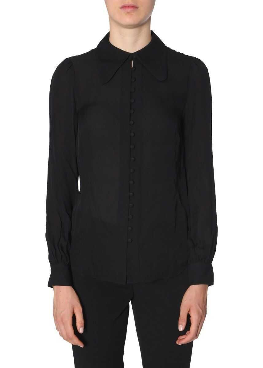 Michael Kors Silk Shirt BLACK