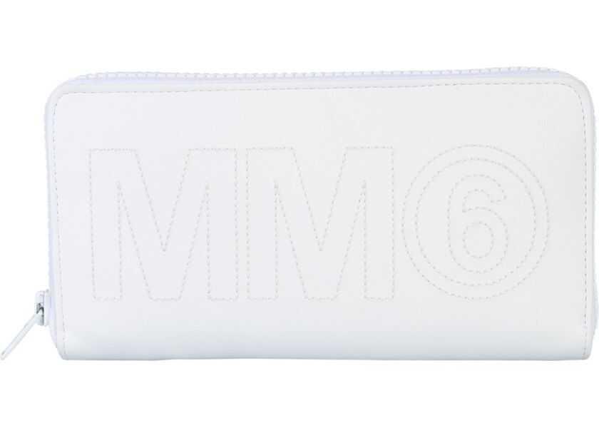 Portofele Dama MM6 Maison Margiela Zip Wallet