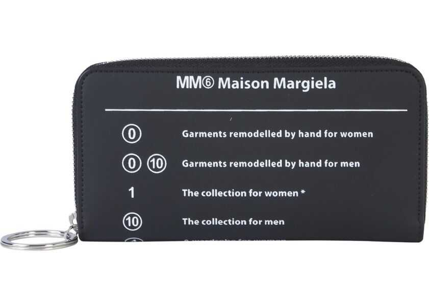 Portofele Dama MM6 Maison Margiela Wallet With Zip