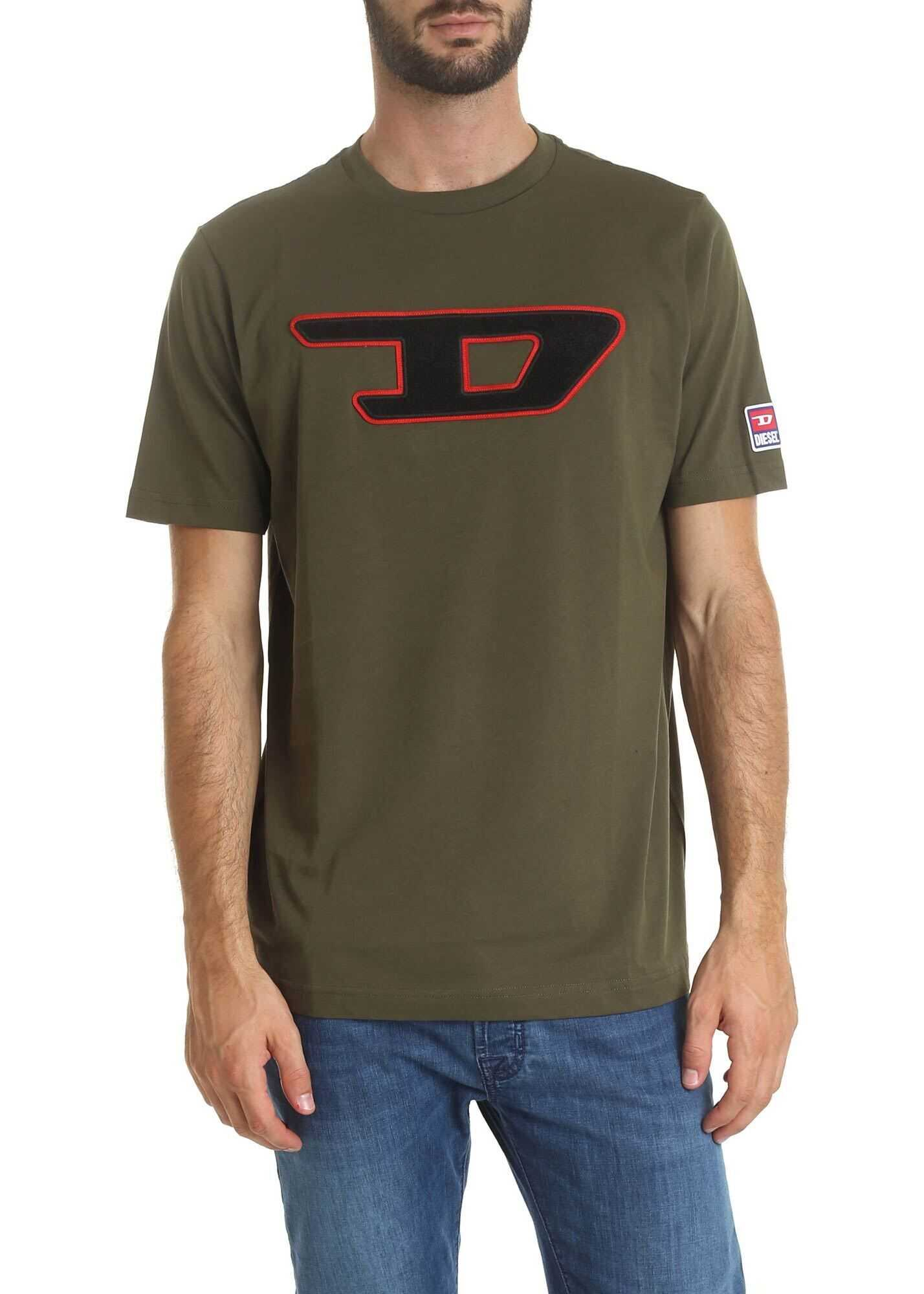 Just Division T-Shirt Army Green