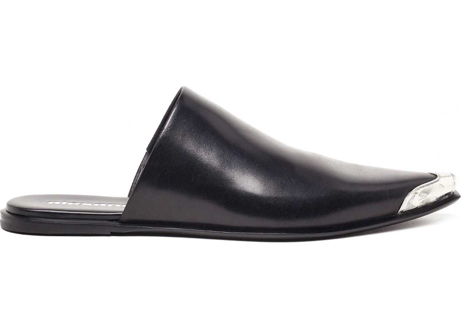 Alexander Wang Leather Loafers BLACK