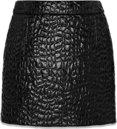 Saint Laurent Polyester Skirt BLACK