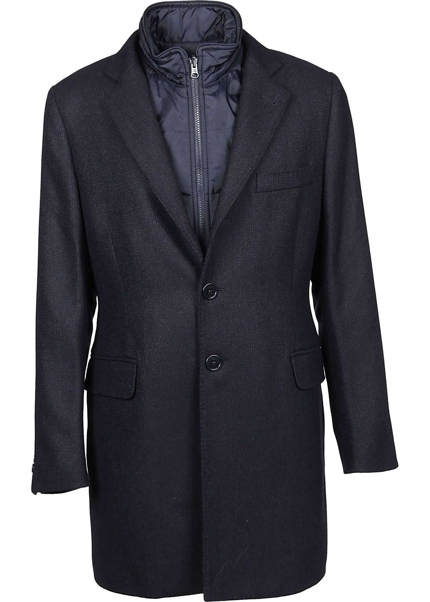 Fay Wool Coat BLUE