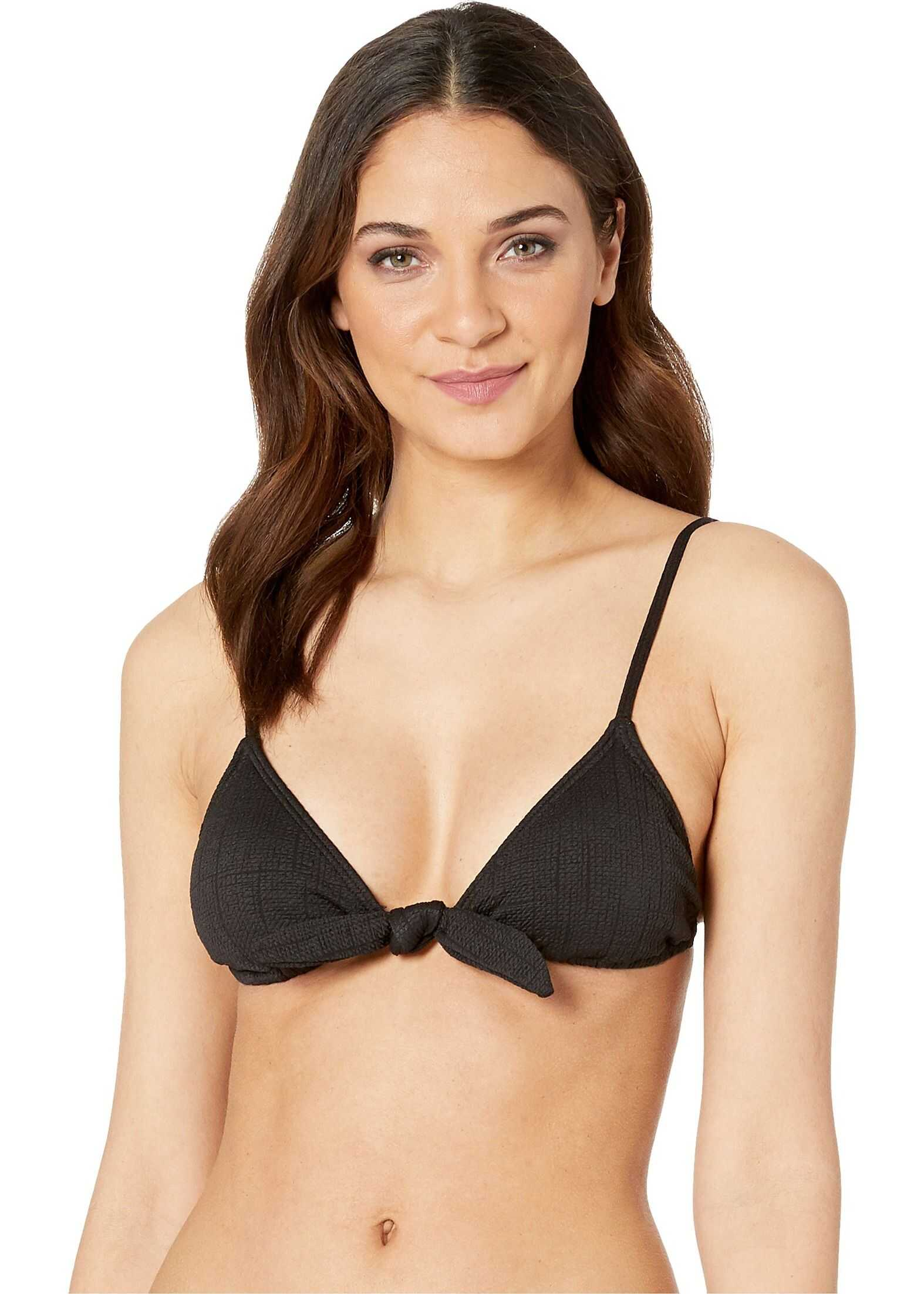 Billabong Sweet Sands Triangle Top Black Pebble