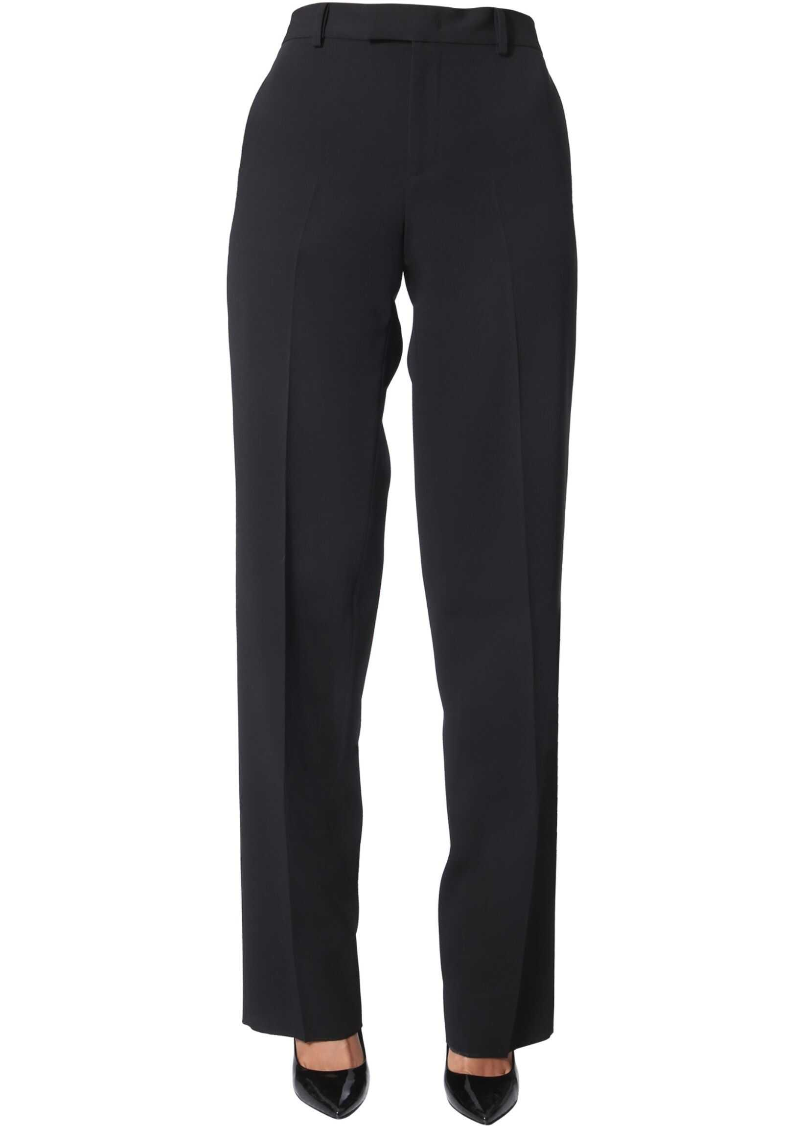 Bottega Veneta Wide Pants BLACK
