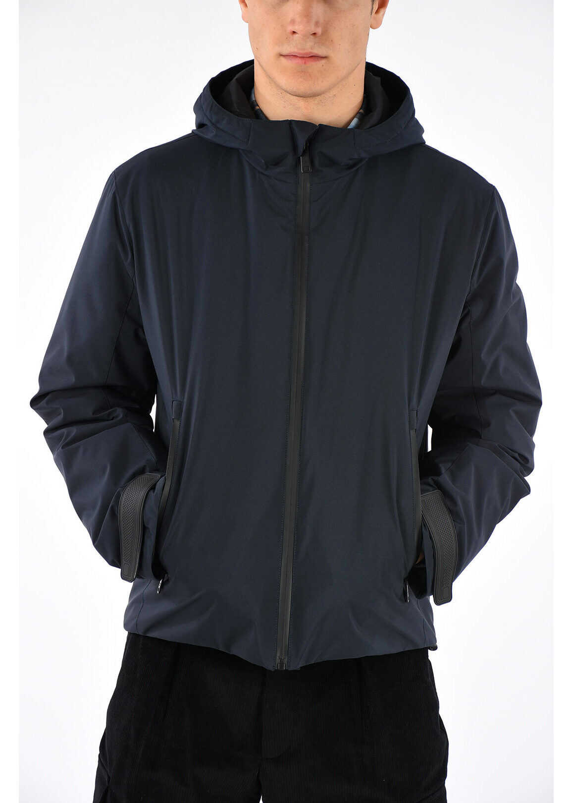 Prada Hooded Windbreaker Jacket BLUE
