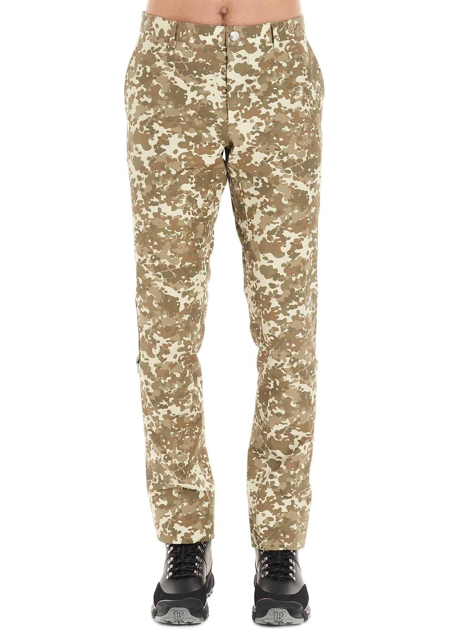 Burberry Cotton Pants GREEN
