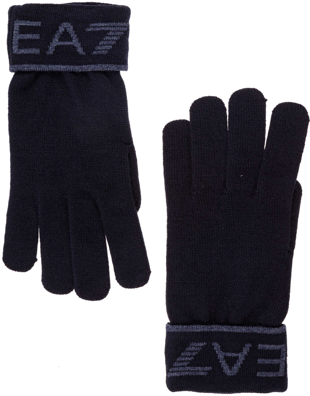 EA7 Gloves Blue