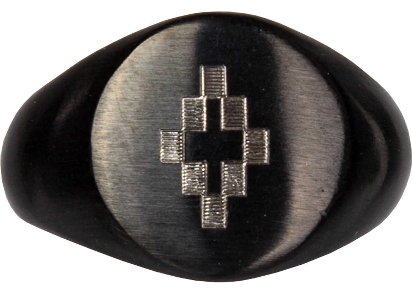 Marcelo Burlon Ring Cross Black