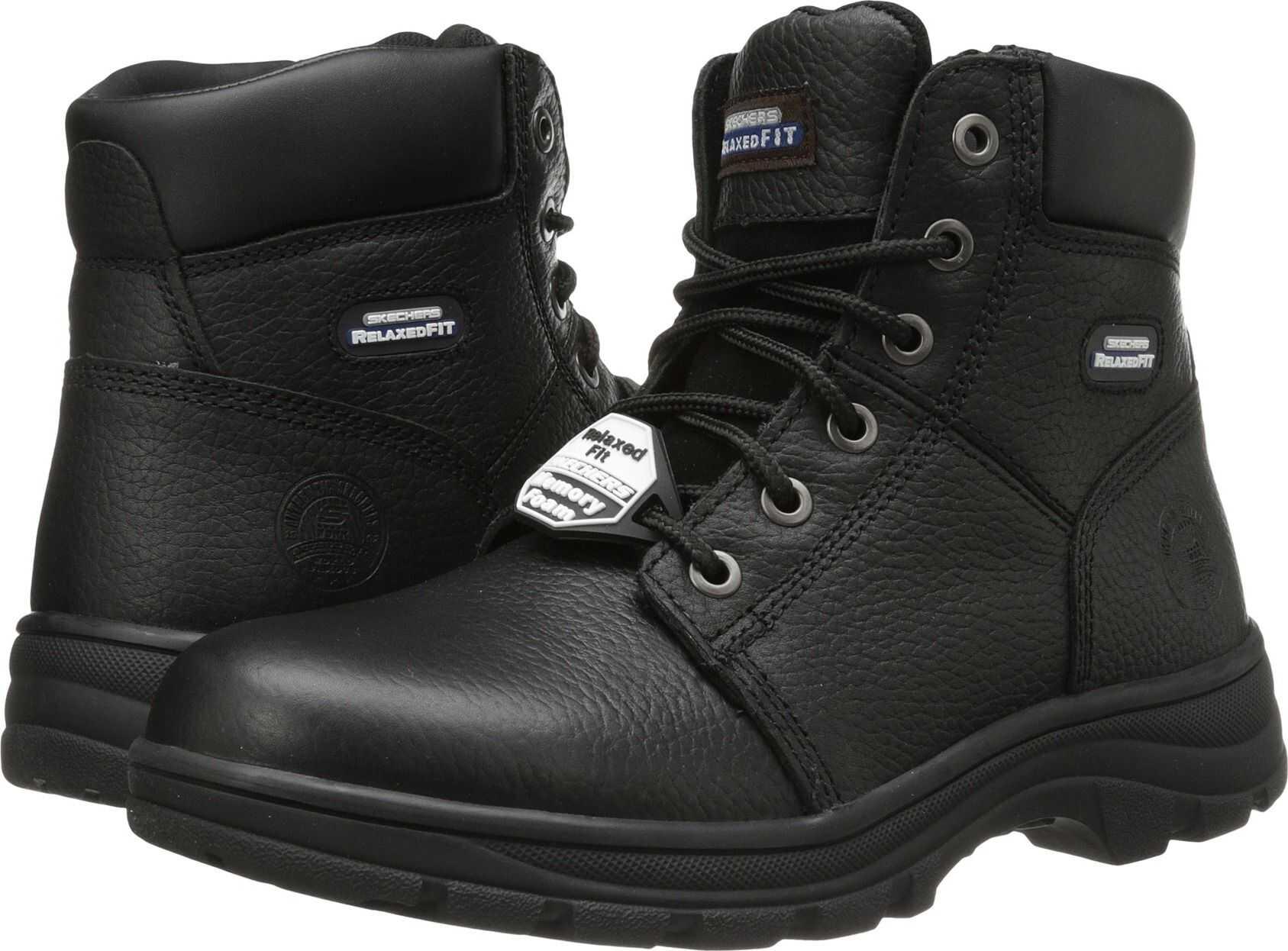 SKECHERS Work Workshire - Condor* Black