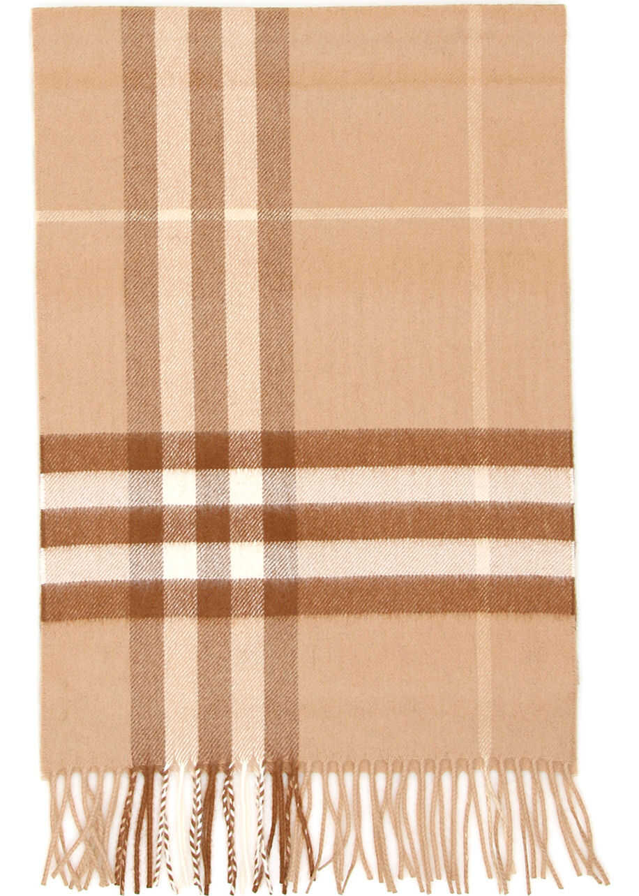 Burberry Giant Check Scarf MID CAMEL