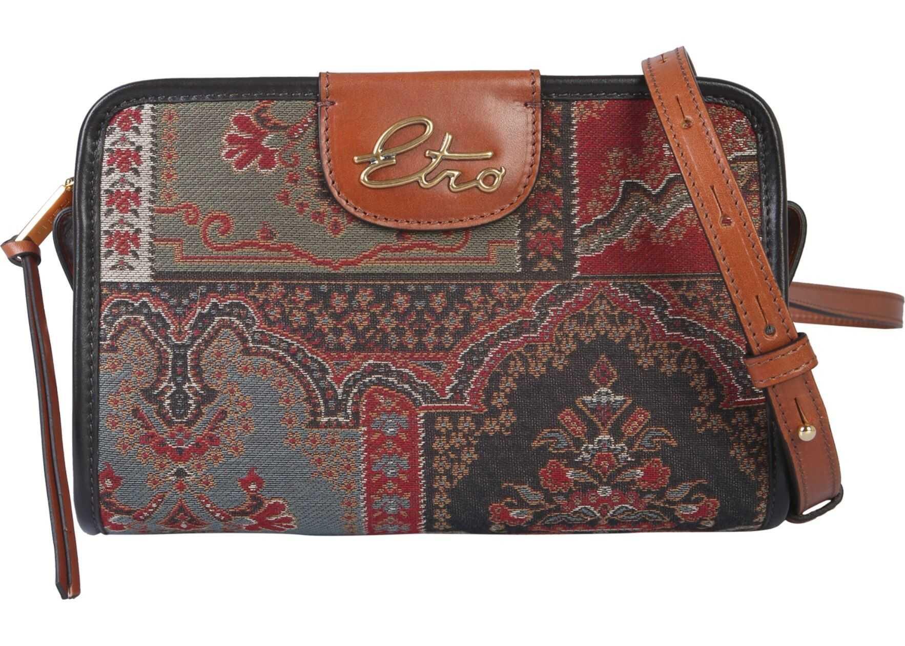 ETRO Paisley Shoulder Bag MULTICOLOUR