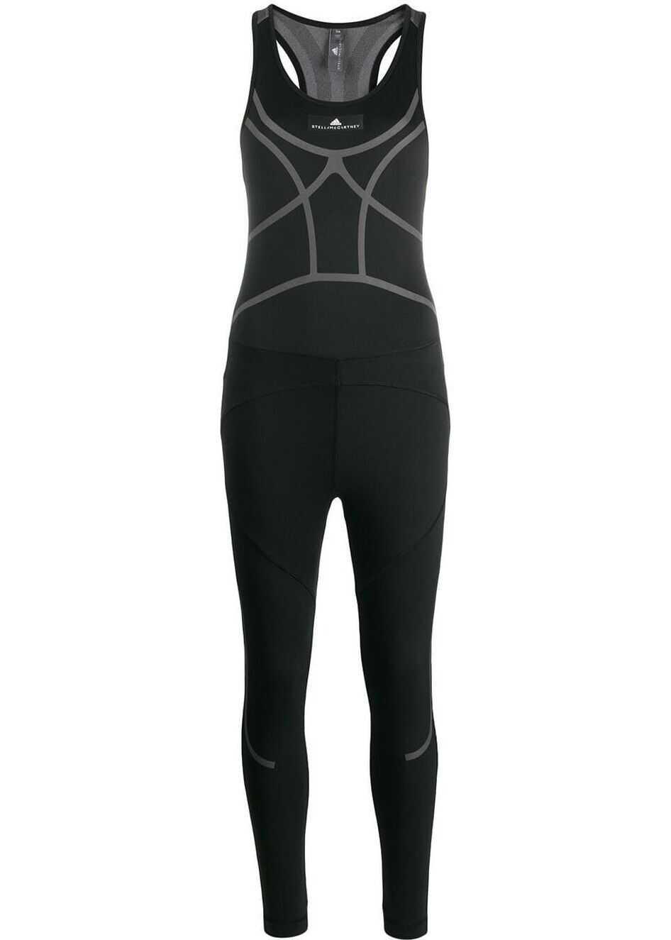 adidas by Stella McCartney Training All-in-One BLACK