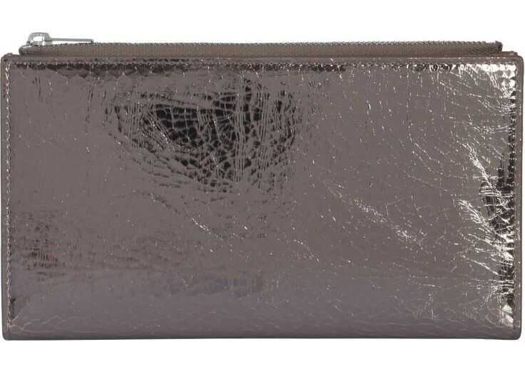 Portofele Dama MM6 Maison Margiela Leather Wallet