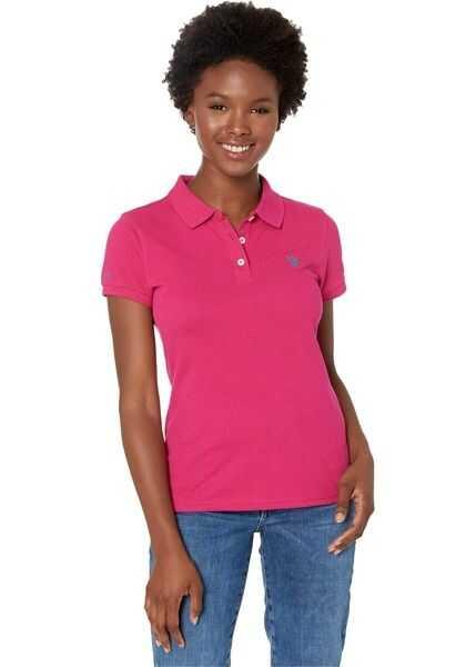 Tricouri Polo Dama U.S. POLO ASSN. Solid Opp Polo