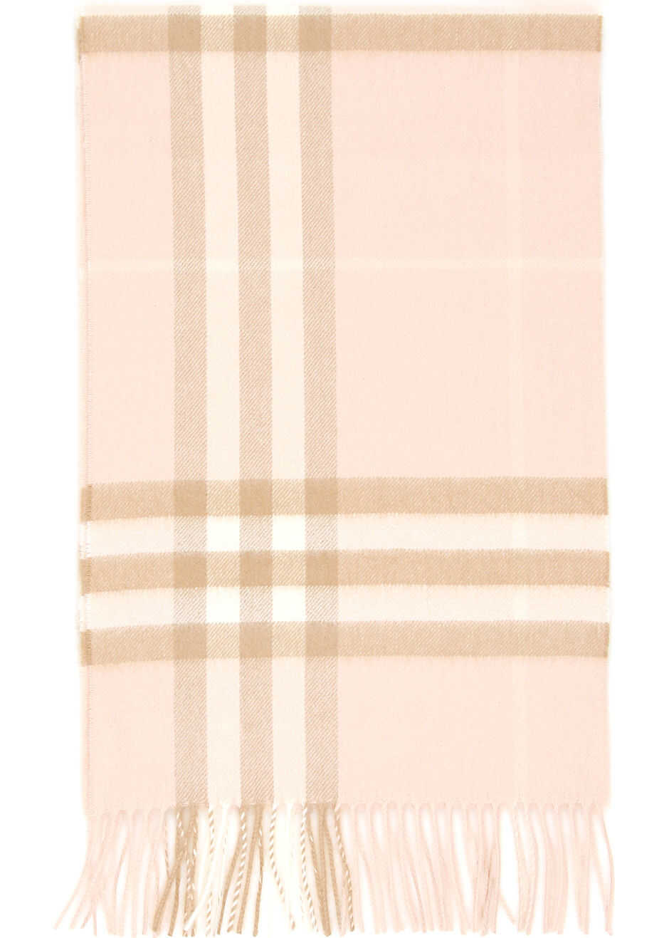 Burberry Giant Check Scarf PALE BLUSH