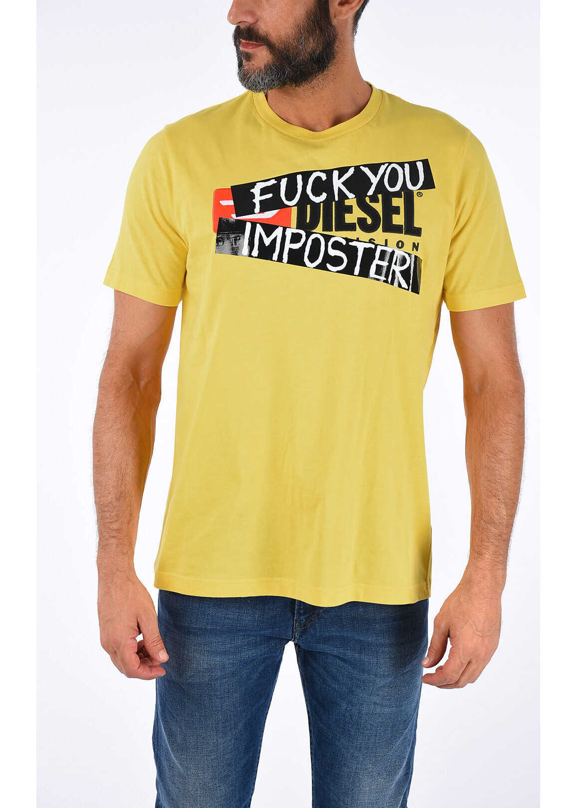 T-shirt JUST-DIVISION Fuck You Imposter