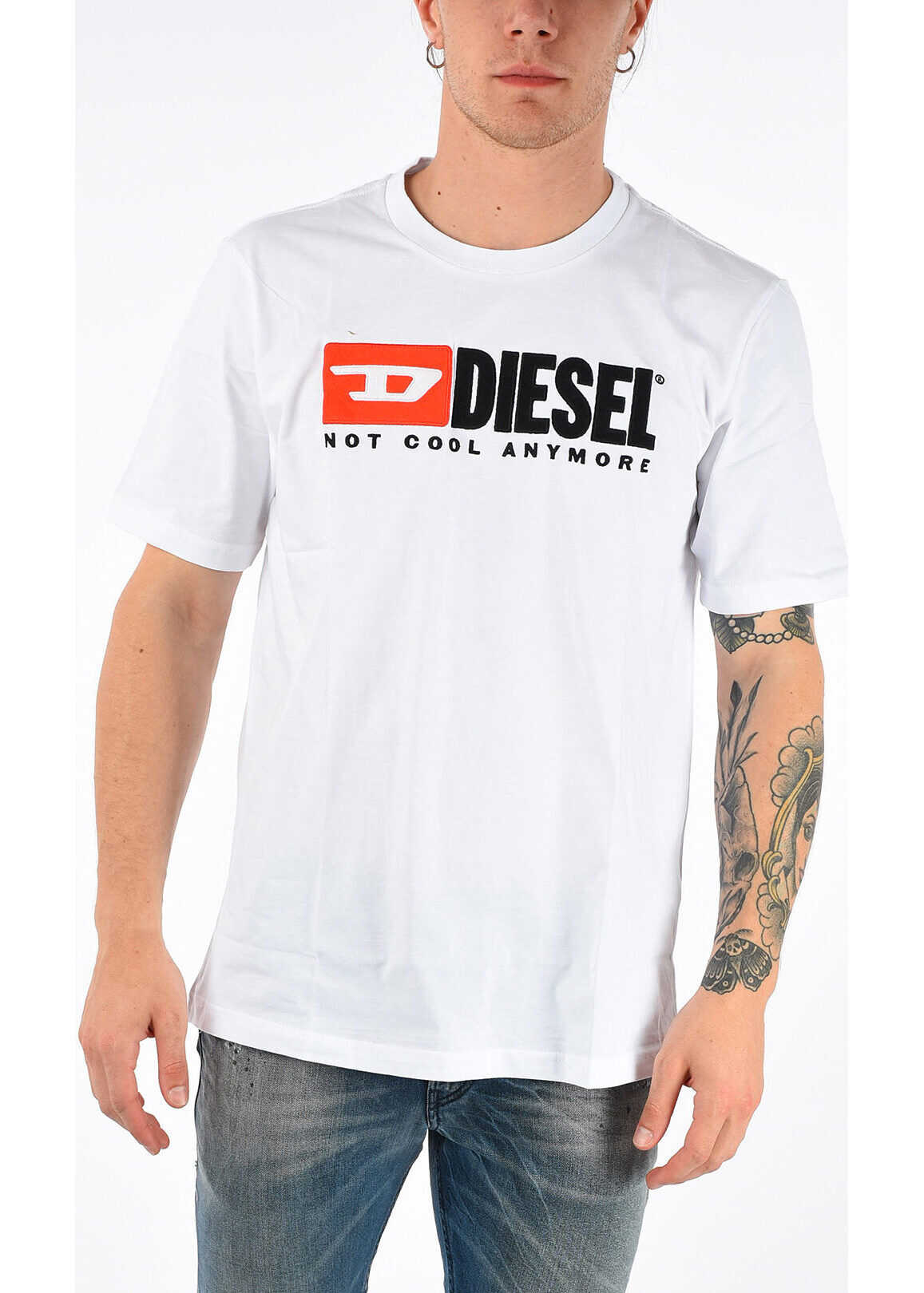 Embroidered HC-T-JUST-DIVISION T-Shirt