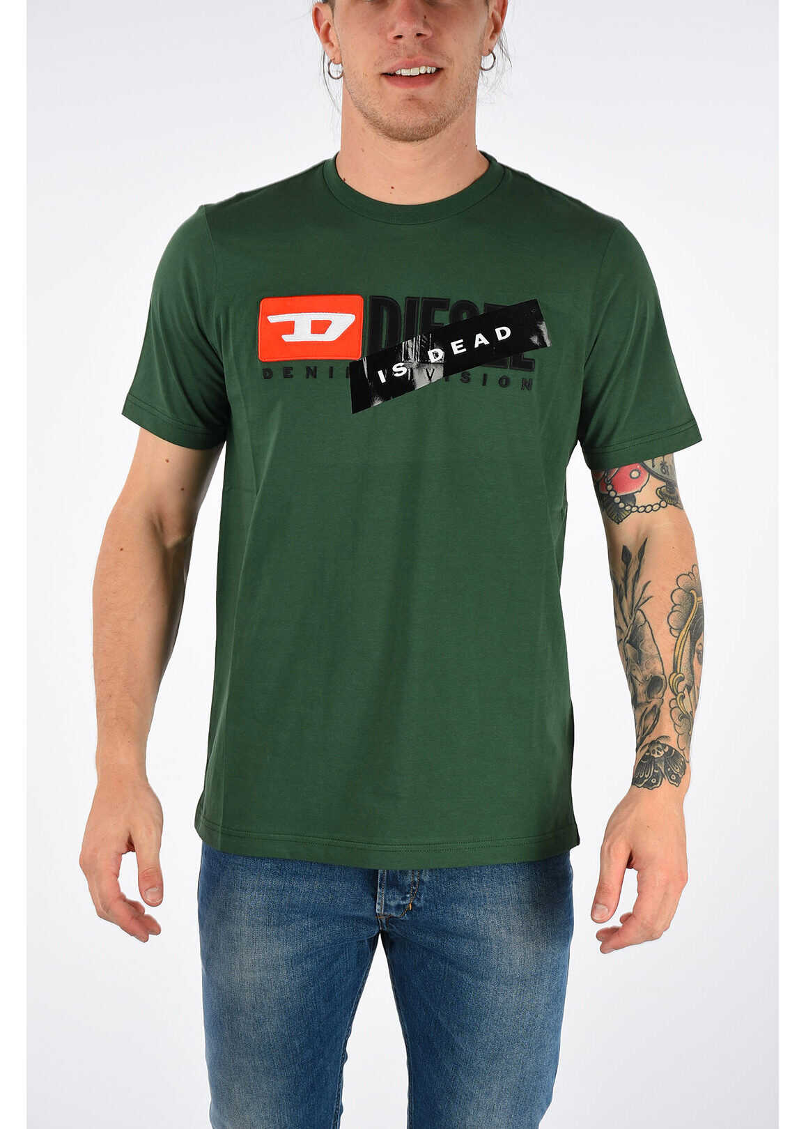 T-shirt JUST-DIVISION Is Dead