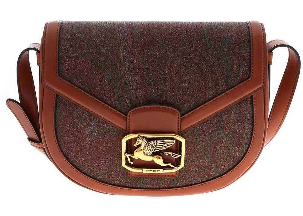 ETRO Etro Print Shoulder Bag Brown