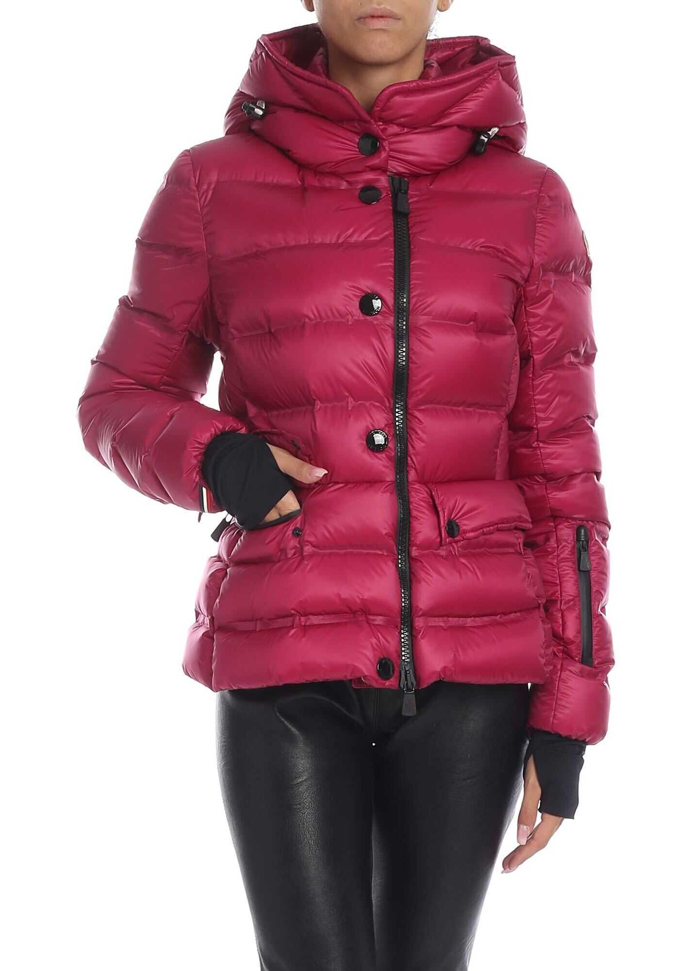 Moncler Grenoble Armotech Down Jacket In Purple Purple