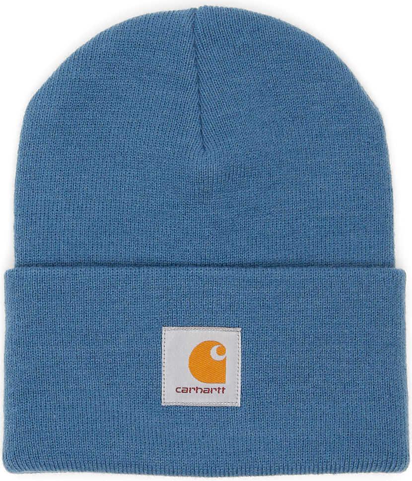 Carhartt Logo Beanie PRUSSIAN BLUE