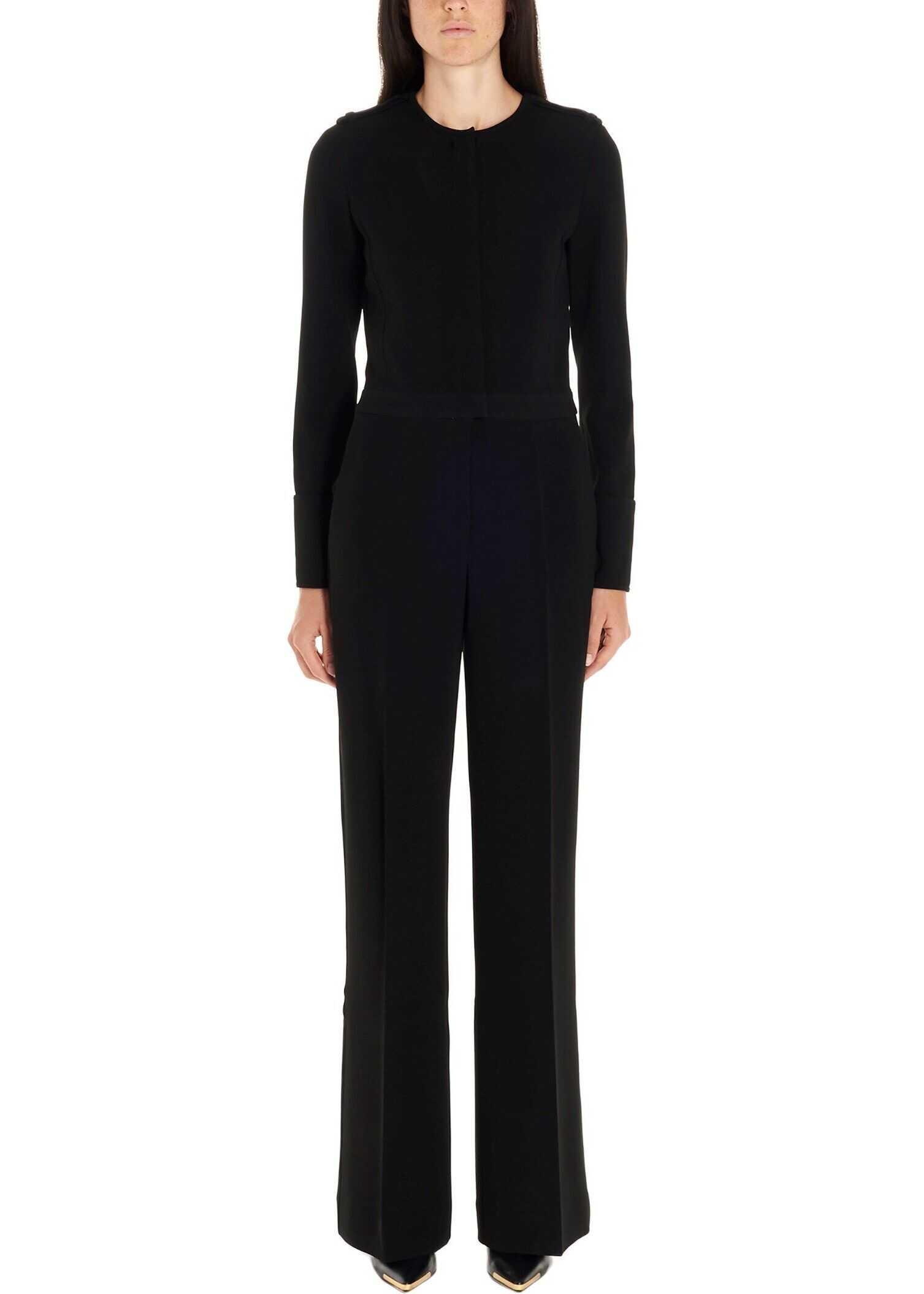 adidas by Stella McCartney Viscose Jumpsuit BLACK