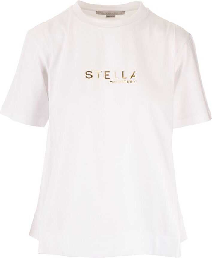 adidas by Stella McCartney Cotton T-Shirt WHITE