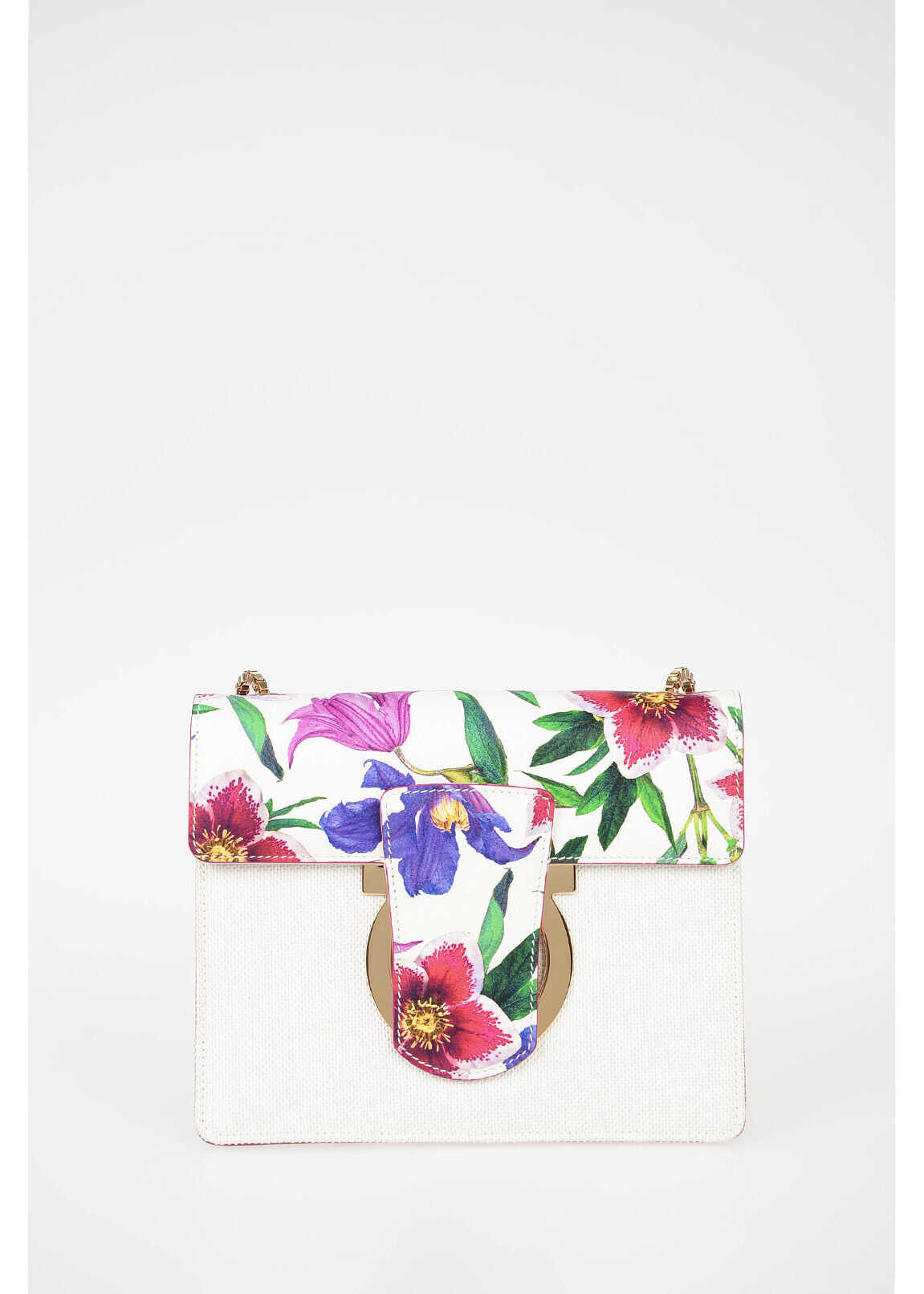 Salvatore Ferragamo Floral Printed THALIA Shoulder Bag N/A