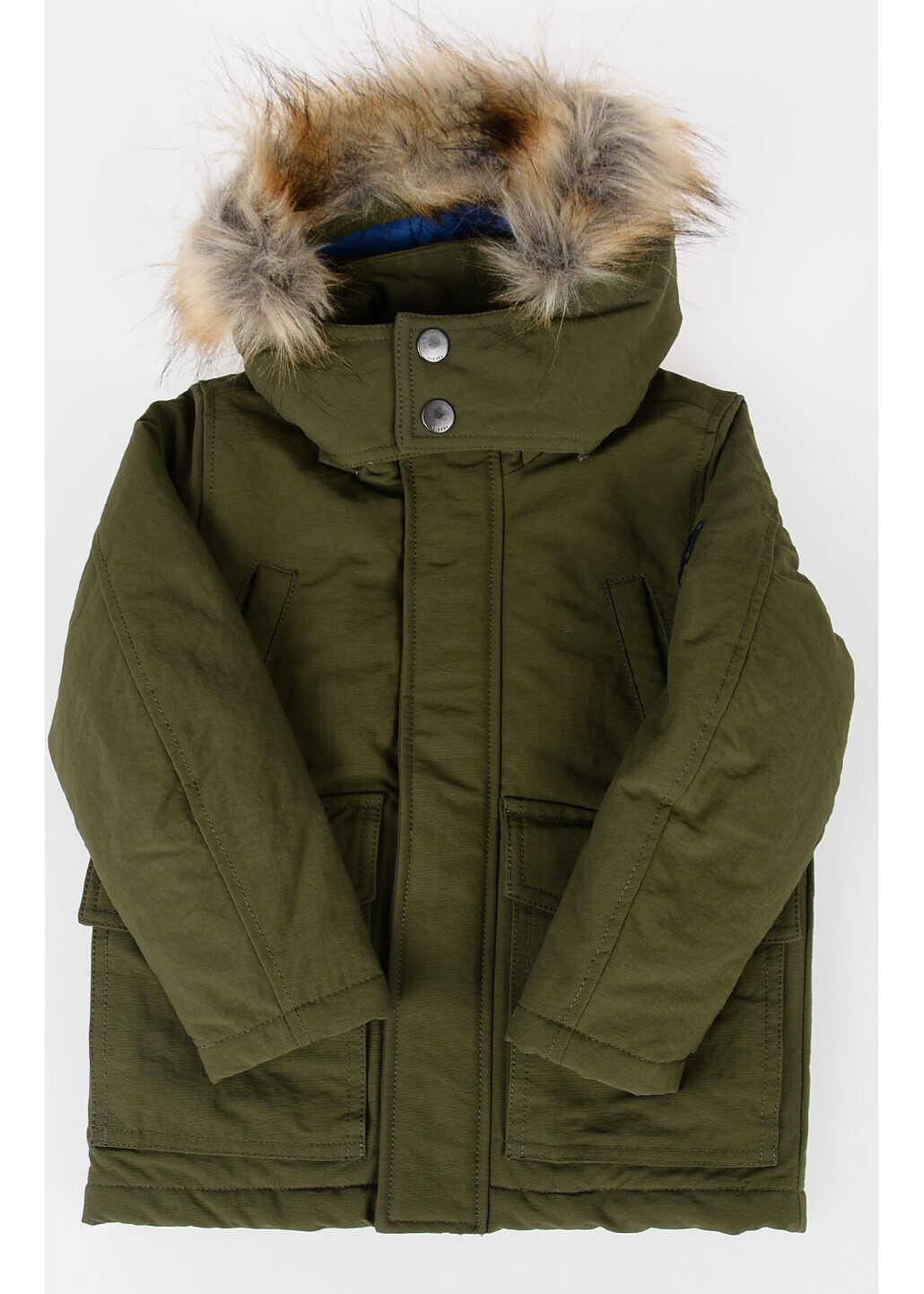 Nylon Hooded JERAX Jacket