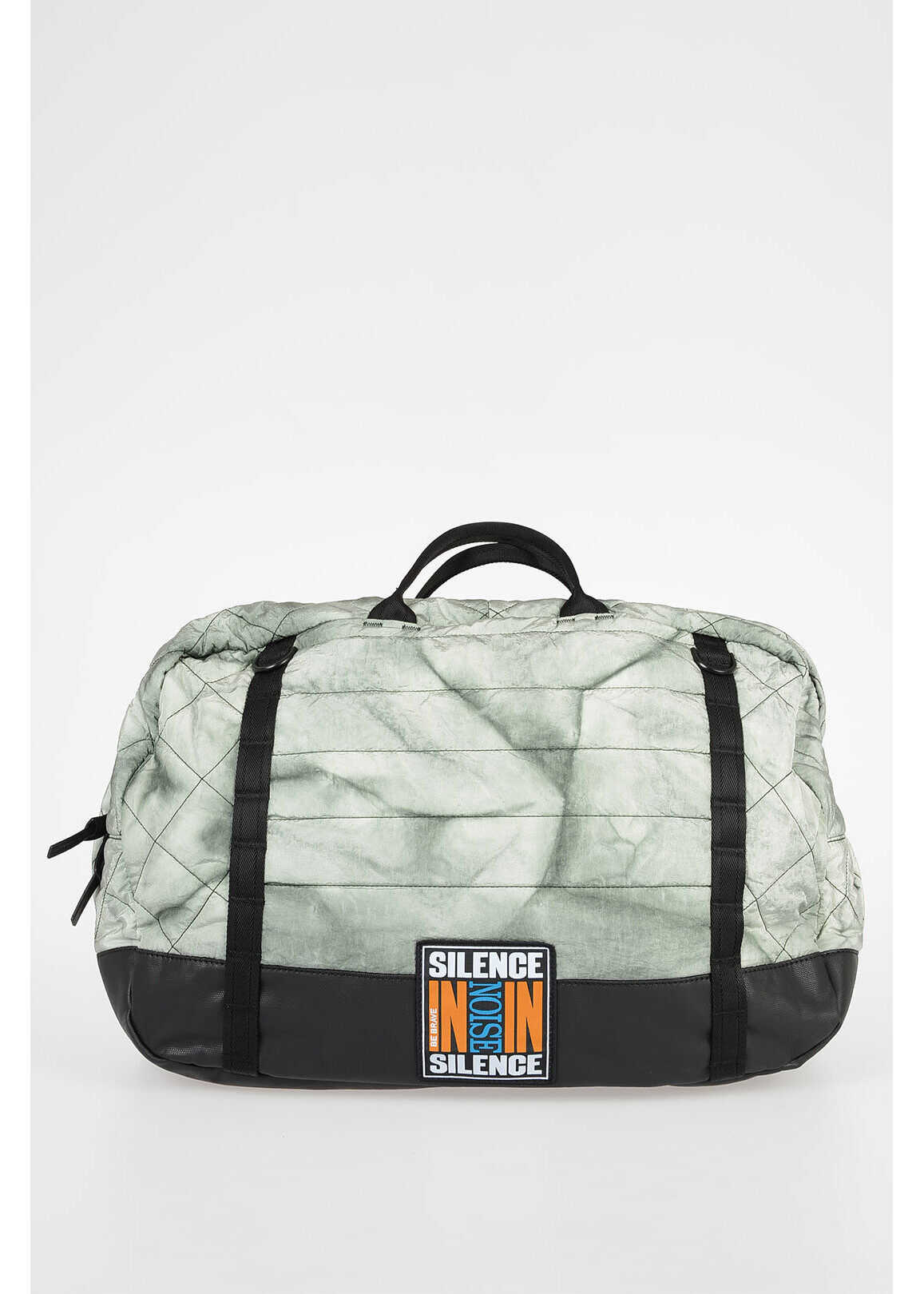 Diesel Quilted HEYODA Duffle Bag MULTICOLOR imagine b-mall.ro