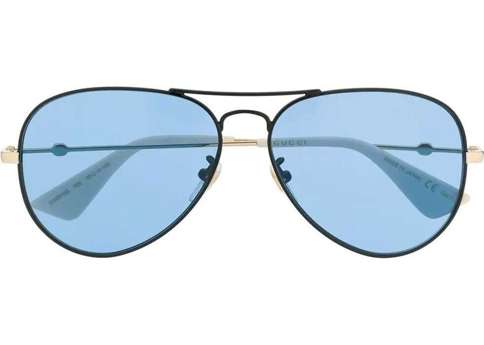 Gucci Metal Sunglasses BLUE