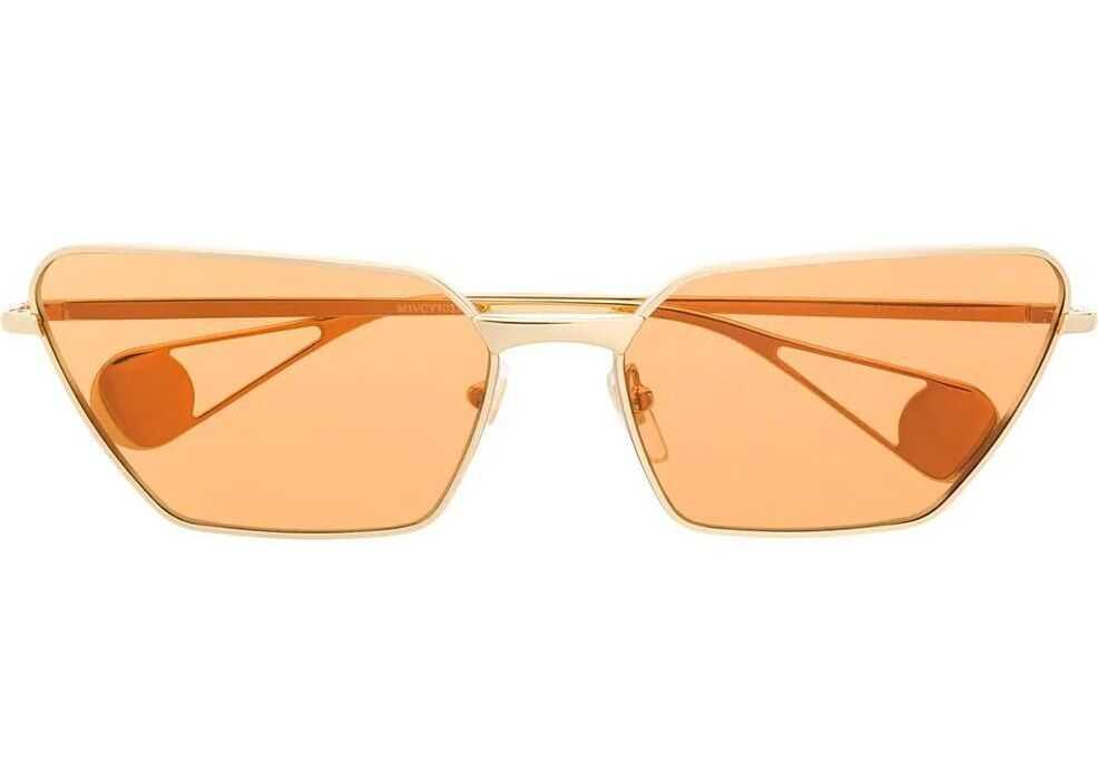 Gucci Metal Sunglasses GOLD