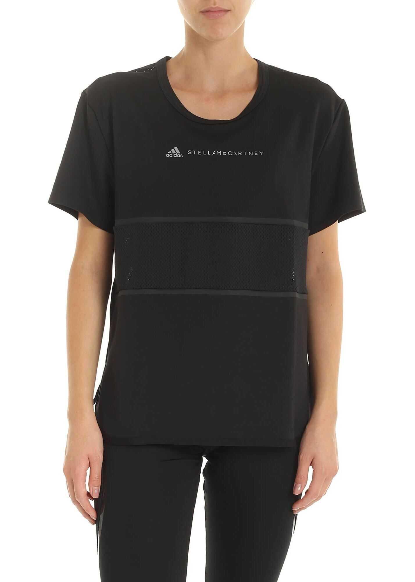 adidas by Stella McCartney Run Loose T-Shirt In Black Black
