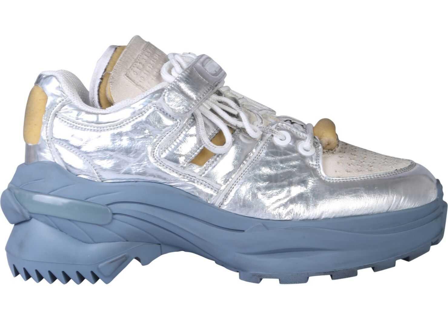 Maison Margiela Retro Fit Low Sneaker SILVER